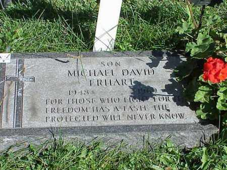 ERHART, MICHAEL DAVID - Richland County, Ohio | MICHAEL DAVID ERHART - Ohio Gravestone Photos