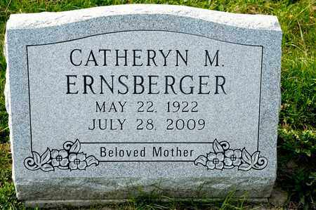 ERNSBERGER, CATHERYN M - Richland County, Ohio | CATHERYN M ERNSBERGER - Ohio Gravestone Photos