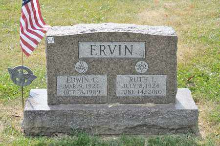 ERVIN, RUTH I - Richland County, Ohio | RUTH I ERVIN - Ohio Gravestone Photos