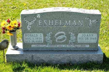 ESHELMAN, RONALD S - Richland County, Ohio | RONALD S ESHELMAN - Ohio Gravestone Photos