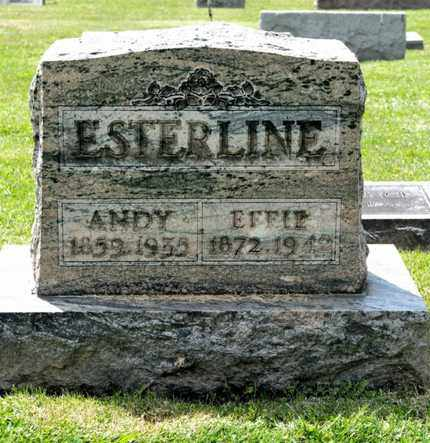 ESTERLINE, ANDY - Richland County, Ohio | ANDY ESTERLINE - Ohio Gravestone Photos