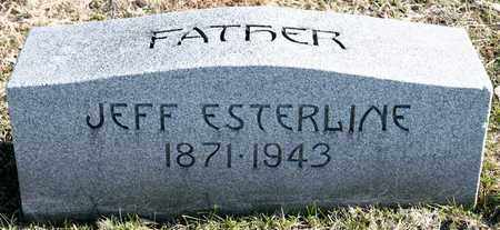 ESTERLINE, JEFF - Richland County, Ohio | JEFF ESTERLINE - Ohio Gravestone Photos