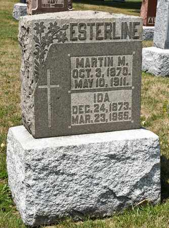 ESTERLINE, MARTIN M - Richland County, Ohio | MARTIN M ESTERLINE - Ohio Gravestone Photos
