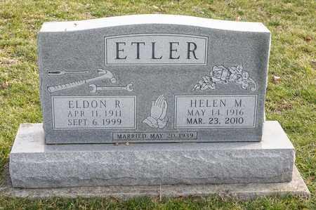 ETLER, HELEN M - Richland County, Ohio | HELEN M ETLER - Ohio Gravestone Photos