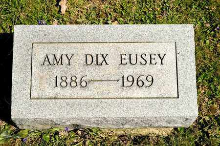 DIX EUSEY, AMY - Richland County, Ohio | AMY DIX EUSEY - Ohio Gravestone Photos
