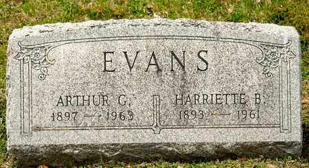 EVANS, HARRIETTE B - Richland County, Ohio | HARRIETTE B EVANS - Ohio Gravestone Photos