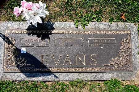 EVANS, GEORGE W - Richland County, Ohio | GEORGE W EVANS - Ohio Gravestone Photos