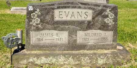 EVANS, JAMES B - Richland County, Ohio | JAMES B EVANS - Ohio Gravestone Photos