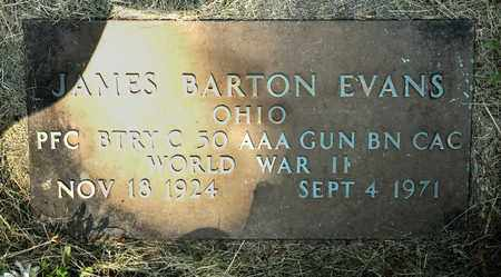 EVANS, JAMES BARTON - Richland County, Ohio | JAMES BARTON EVANS - Ohio Gravestone Photos