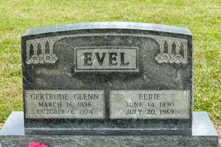 EVEL, ELRIE - Richland County, Ohio | ELRIE EVEL - Ohio Gravestone Photos