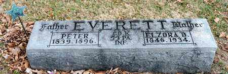 EVERETT, PETER - Richland County, Ohio | PETER EVERETT - Ohio Gravestone Photos