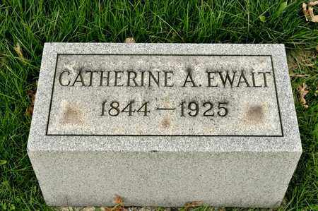 EWALT, CATHERINE A - Richland County, Ohio | CATHERINE A EWALT - Ohio Gravestone Photos