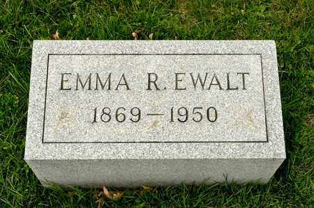 EWALT, EMMA R - Richland County, Ohio | EMMA R EWALT - Ohio Gravestone Photos