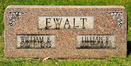 EWALT, WILLIAM K - Richland County, Ohio | WILLIAM K EWALT - Ohio Gravestone Photos