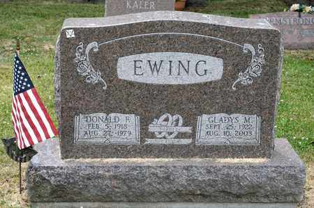 EWING, DONALD F - Richland County, Ohio | DONALD F EWING - Ohio Gravestone Photos