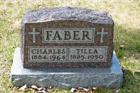 FABER, TILLA - Richland County, Ohio | TILLA FABER - Ohio Gravestone Photos