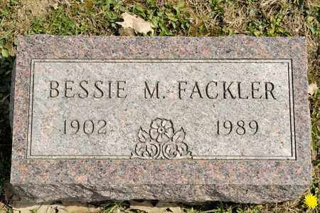 FACKLER, BESSIE M - Richland County, Ohio | BESSIE M FACKLER - Ohio Gravestone Photos
