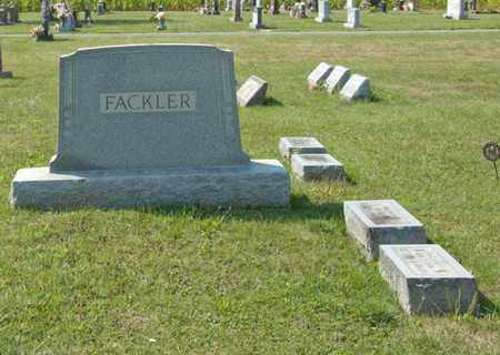 FACKLER, OSCAR - Richland County, Ohio | OSCAR FACKLER - Ohio Gravestone Photos