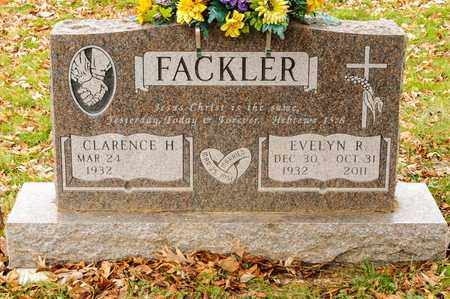 FACKLER, EVELYN R - Richland County, Ohio | EVELYN R FACKLER - Ohio Gravestone Photos