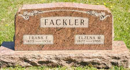 FACKLER, ELZENA M - Richland County, Ohio | ELZENA M FACKLER - Ohio Gravestone Photos