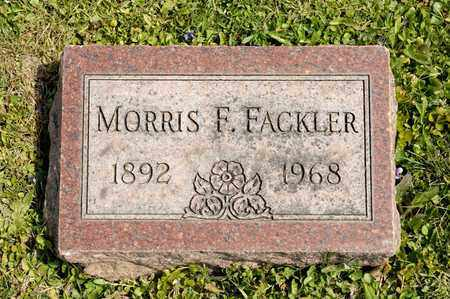 FACKLER, MORRIS F - Richland County, Ohio | MORRIS F FACKLER - Ohio Gravestone Photos