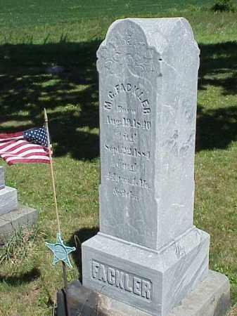 FACKLER, M.C. - Richland County, Ohio   M.C. FACKLER - Ohio Gravestone Photos