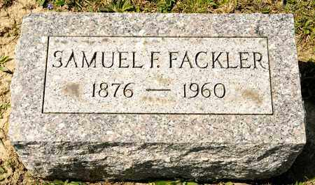 FACKLER, SAMUEL F - Richland County, Ohio | SAMUEL F FACKLER - Ohio Gravestone Photos