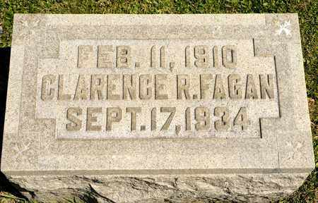 FAGAN, CLARENCE R - Richland County, Ohio | CLARENCE R FAGAN - Ohio Gravestone Photos