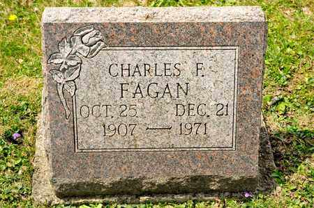 FAGAN, CHARLES F - Richland County, Ohio | CHARLES F FAGAN - Ohio Gravestone Photos