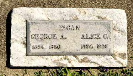 FAGAN, GEORGE A - Richland County, Ohio | GEORGE A FAGAN - Ohio Gravestone Photos