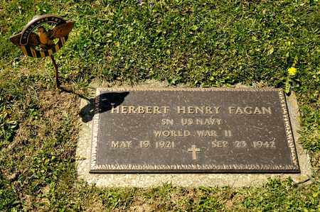 FAGAN, HERBERT HENRY - Richland County, Ohio | HERBERT HENRY FAGAN - Ohio Gravestone Photos