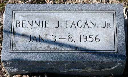 FAGAN JR, BENNIE J - Richland County, Ohio | BENNIE J FAGAN JR - Ohio Gravestone Photos