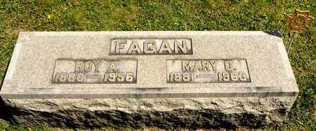 FAGAN, ROY A - Richland County, Ohio | ROY A FAGAN - Ohio Gravestone Photos