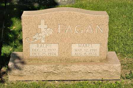 FAGAN, MABEL - Richland County, Ohio | MABEL FAGAN - Ohio Gravestone Photos