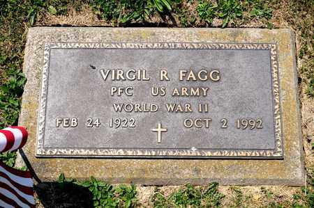 FAGG, VIRGIL R - Richland County, Ohio | VIRGIL R FAGG - Ohio Gravestone Photos