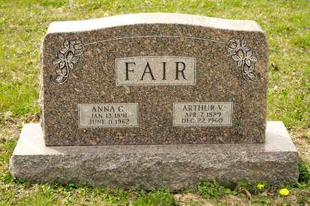 FAIR, ARTHUR V - Richland County, Ohio | ARTHUR V FAIR - Ohio Gravestone Photos