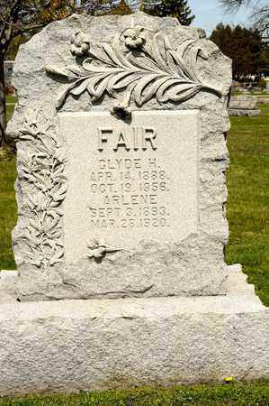 FAIR, CLYDE H - Richland County, Ohio | CLYDE H FAIR - Ohio Gravestone Photos