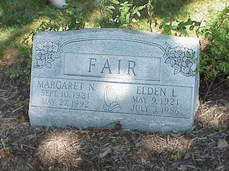 FAIR, MARGARET N. - Richland County, Ohio | MARGARET N. FAIR - Ohio Gravestone Photos