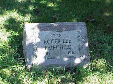 FAIRCHILD, ROGER LEE - Richland County, Ohio | ROGER LEE FAIRCHILD - Ohio Gravestone Photos