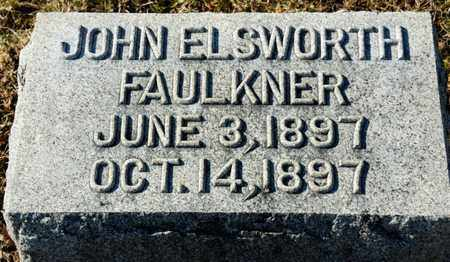 FAULKNER, JOHN ELSWORTH - Richland County, Ohio | JOHN ELSWORTH FAULKNER - Ohio Gravestone Photos