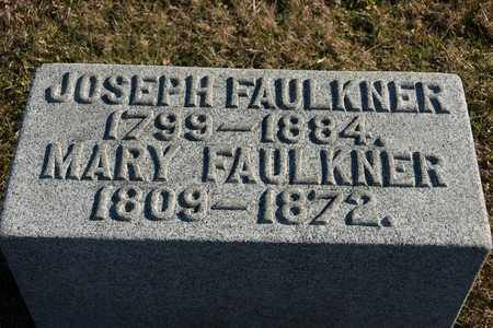 FAULKNER, MARY - Richland County, Ohio | MARY FAULKNER - Ohio Gravestone Photos