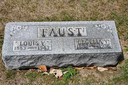 FAUST, CECELIA V - Richland County, Ohio | CECELIA V FAUST - Ohio Gravestone Photos