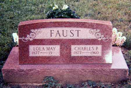 BAKER FAUST, LOLA MAY - Richland County, Ohio | LOLA MAY BAKER FAUST - Ohio Gravestone Photos