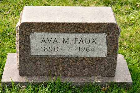FAUX, AVA M - Richland County, Ohio | AVA M FAUX - Ohio Gravestone Photos