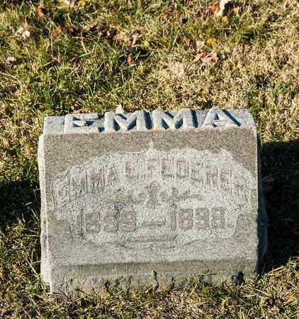 FEDERER, EMMA E - Richland County, Ohio | EMMA E FEDERER - Ohio Gravestone Photos