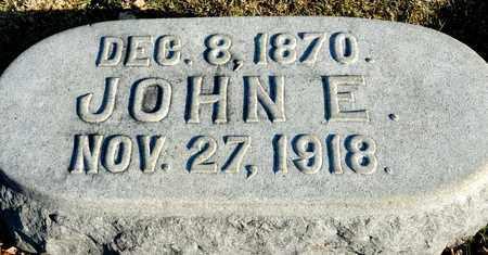 FEIGHNER, JOHN E - Richland County, Ohio | JOHN E FEIGHNER - Ohio Gravestone Photos