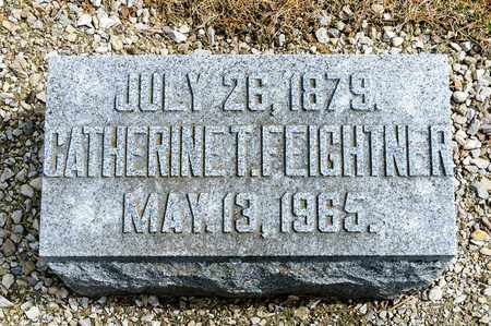 FEIGHTNER, CATHERINE T - Richland County, Ohio | CATHERINE T FEIGHTNER - Ohio Gravestone Photos
