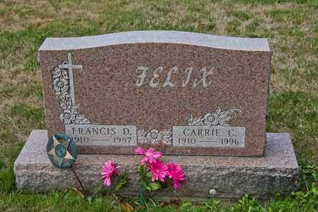 FELIX, FRANCIS D - Richland County, Ohio | FRANCIS D FELIX - Ohio Gravestone Photos