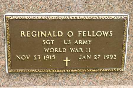 FELLOWS, REGINALD O - Richland County, Ohio | REGINALD O FELLOWS - Ohio Gravestone Photos