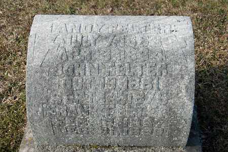 FELTER, ANDY - Richland County, Ohio | ANDY FELTER - Ohio Gravestone Photos